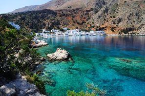 Vacances Heraklion: Autotour La Crète D'Est en Ouest en Liberté