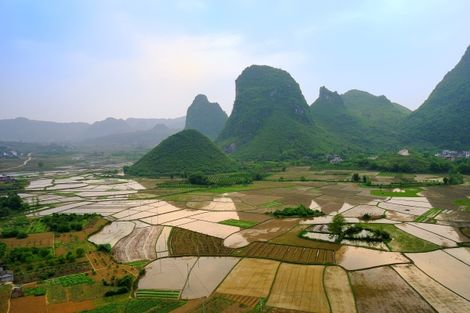 Guilin nature en Chine
