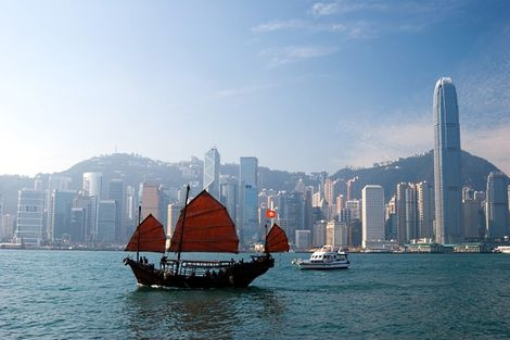 Hong Kong en Chine