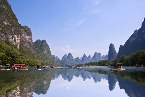 Yangshuo nature en Chine