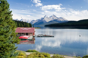Canada-Calgary, Circuit Totems et Glaciers
