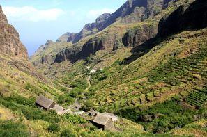 Cap Vert - Ile de Boavista, Hôtel Plages et volcan