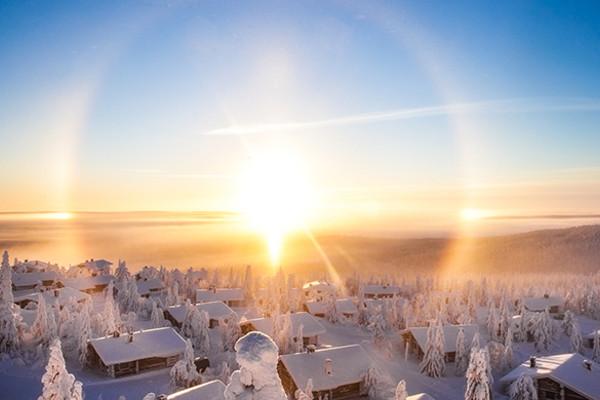 (fictif) - Circuit Lumières de Laponie
