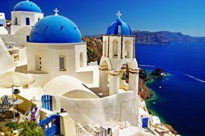 Vacances Athenes: Circuit Combiné d'îles Mykonos-Paros-Santorin en 15 jours