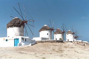 Grece - Athenes, Périple 3 îles en 15 jours: Mykonos - Paros - Santorin