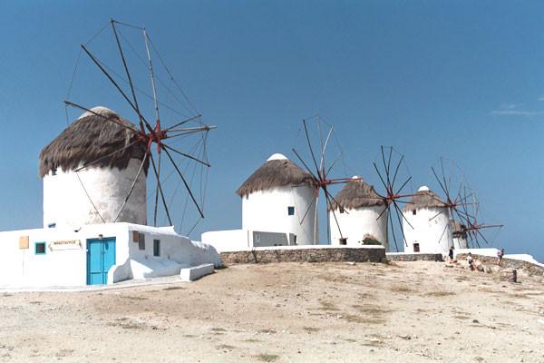 Monument - Périple 3 îles en 15 jours: Mykonos - Paros - Santorin