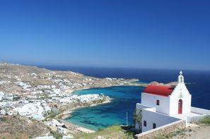 Grece-Mykonos, Circuit A la Découverte des Cyclades