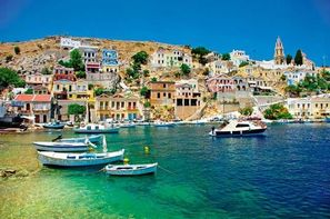 Grece-Rhodes, Circuit Echappée Rhodienne- depuis le Club Héliades Cyprotel Faliraki Resort