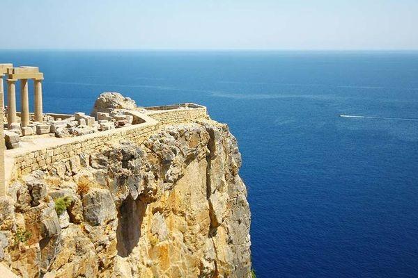 (fictif) - Circuit Périple depuis Rhodes 2 îles en 1 semaine : Rhodes et Patmos 4*