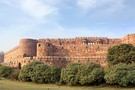 Fort Rouge D'agra en Inde
