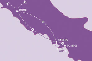Vacances Rome: Circuit Indispensable Italie du Sud