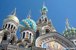 Russie-Saint Petersbourg, Circuit Splendides capitales de Russie