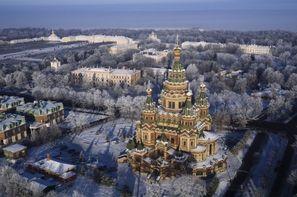 Russie-Saint Petersbourg, Circuit Court séjour en hiver à Saint Pétersbourg 4*