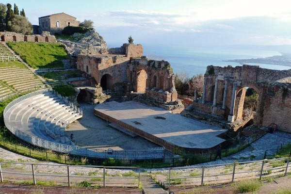 Taormine amphithéâtre