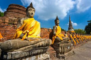 Thailande - Bangkok, Circuit Trésors du Siam 3* et Farniente à Krabi au Vogue Ao Nang