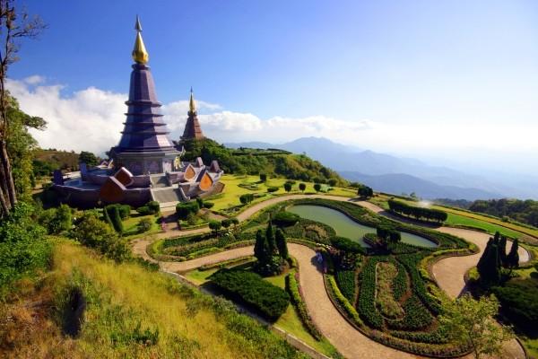 Paysage vers Chiang Rai