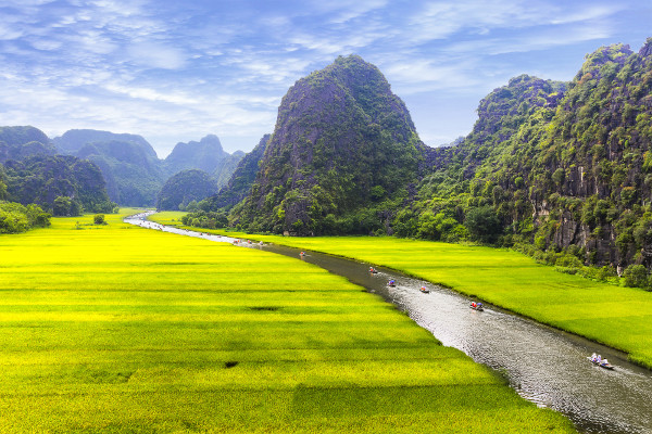 Beauté du nord du Vietnam