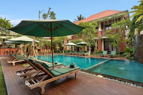 Piscine - Combiné hôtels Balnéaire à l'hôtel Sadara Boutique Beach Resort à Nusa Dua + D'Bulakan Boutique à Ubud 4*