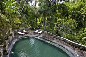Bali-Denpasar, Combiné hôtels Sanur Paradise + Tjampuhan Charme à Ubud