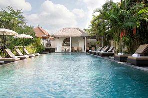 Bali-Denpasar, Combiné hôtels Ubud Village + Lembongan Beach + Prime Plaza Hotel Sanur
