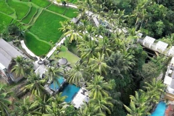 Vue panoramique - Combiné hôtels - Balnéaire au Prama Sanur Beach 4* Sup + Wapa di Ume 4* à Ubud