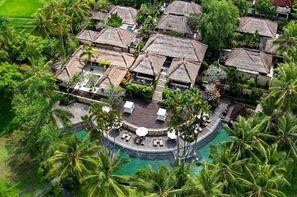 Bali-Denpasar, Combiné hôtels Balnéaire à Kuta à l'hôtel Fontana + The Ubud Village Hotel