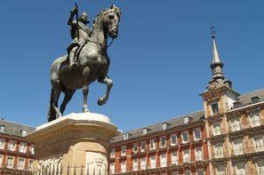 Espagne-Madrid,Combiné circuit et hôtel Découverte Madrid 3*