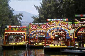 Mexique-Mexico, Combiné circuit et hôtel Combiné Aztèques et plages mayas