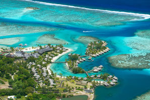 Polynesie Francaise - Papeete, Combiné hôtels Intercontinental & Maitai