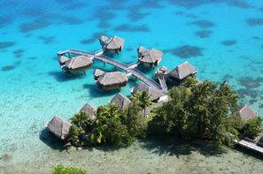 Polynesie Francaise - Papeete, Combiné hôtels 3 îles au Pearl et Sofitel : Tahiti 4*, Moorea 5* et Bora Bora
