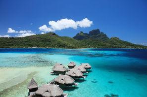 Polynesie Francaise-Papeete, Combiné hôtels Trois îles au Méridien et au Sofitel : Tahiti, Moorea et Bora Bora