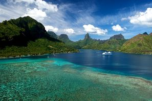 Polynesie Francaise-Tahiti, Combiné hôtels 4 Îles Tahiti, Moorea, Huahine, Bora Bora : Hôtels Tahiti Nui + Hibiscus Moorea + Maitai La Pita + Maitai Polynesia