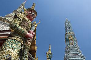 Thailande - Bangkok, Combiné circuit et hôtel Trésors du Siam 3* et Farniente au Novotel Phuket Vintage Park