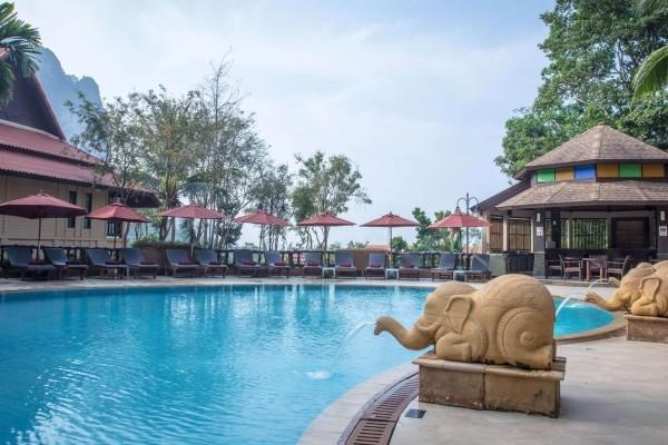 Piscine - Combiné hôtels Court séjour Bangkok et Krabi au Vogue Ao Nang 4*