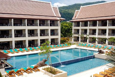 Circuit Trésors du Siam et Farniente à Phuket- Hotel Deevana Patong 3* THAÏLANDE