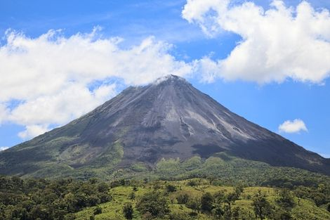 Volcan Arenal au Costa Rica