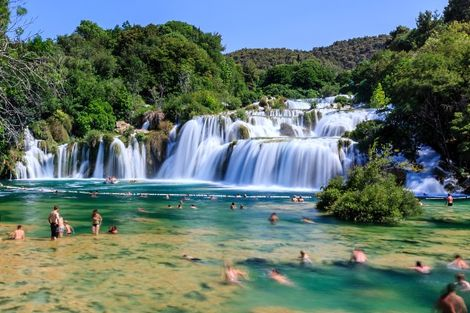 Parc national de Krka en Croatie