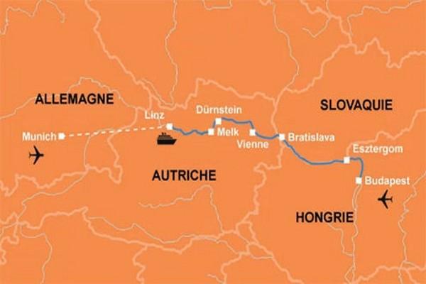 (fictif) - Croisière Sur le Danube