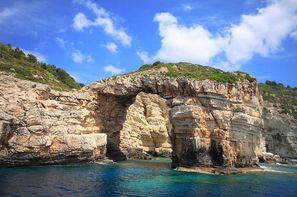 Grece - Corfou, Croisière Rivages Ioniens en caïque