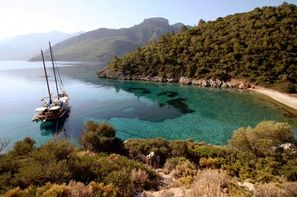 Turquie - Bodrum, Croisière A la Découverte du golfe de Gokova en goelette