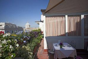 Italie-Rome, Hotel Doria