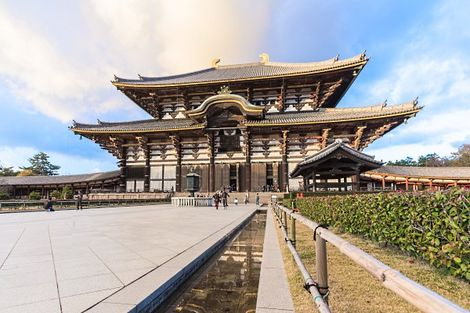 Nara - Temple de Todai-ji au Japon