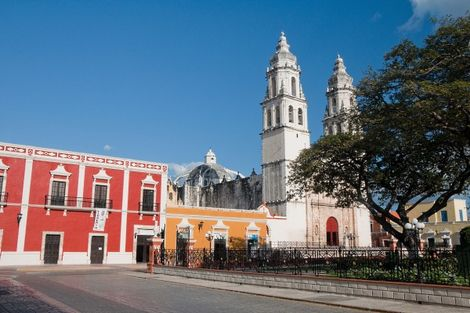 Campeche au Mexique