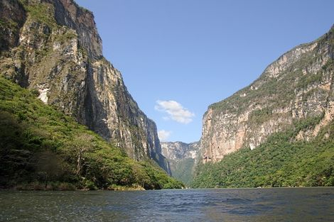 Canyon del Sumidero au Mexique