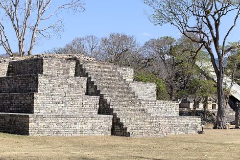 Copan au Mexique
