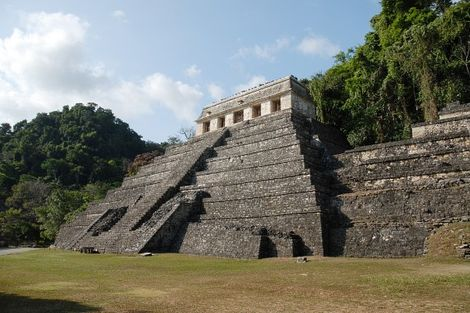 Palenque au Mexique