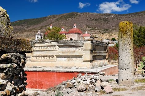 Site de Mitla au Mexique