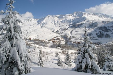 Station saint fran ois longchamp pistes de ski domaine - Office du tourisme st francois longchamp ...