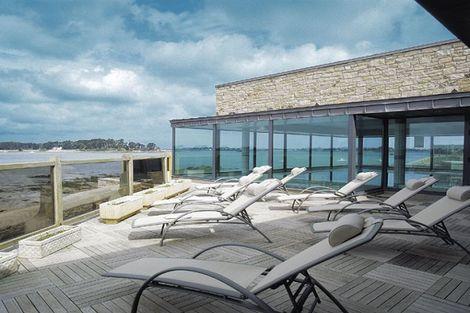 vue terrasse - Tulip Inn Roscoff France Bretagne - Roscoff