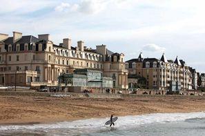 France Bretagne - Saint Malo, Hôtel Grand Hôtel des Thermes 5*  - Chambre Transat Classique Sud